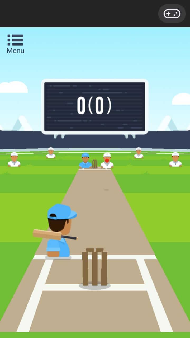 online cricket game