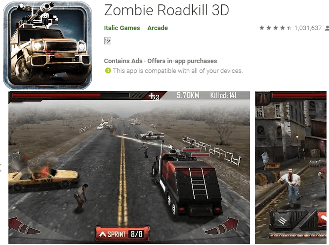 zombie 3d front page image